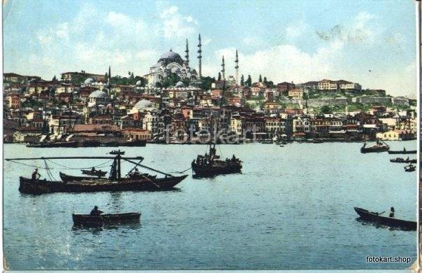 Bir Zamanlar İstanbul: Kartpostallar 03