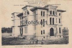 Manastır, Eski Türk İdaresi, Bombardıman Sonrası (1918)