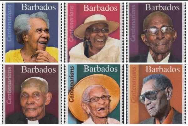 Barbados 100 Yaş Pulları