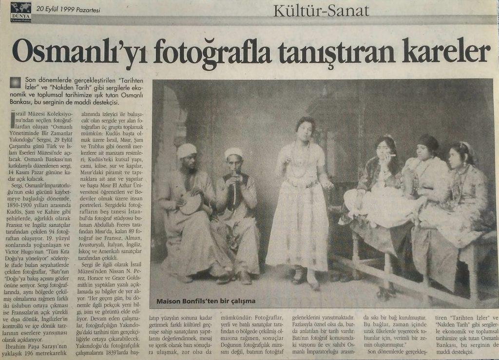Osmanlı'yı fotoğrafla tanıştıran kareler