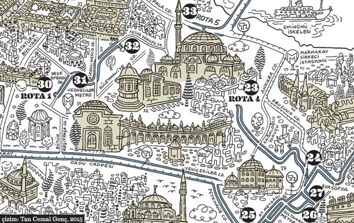 Mimar Sinan İstanbul Harita