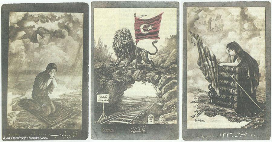 Milli Mücadele Kartpostal