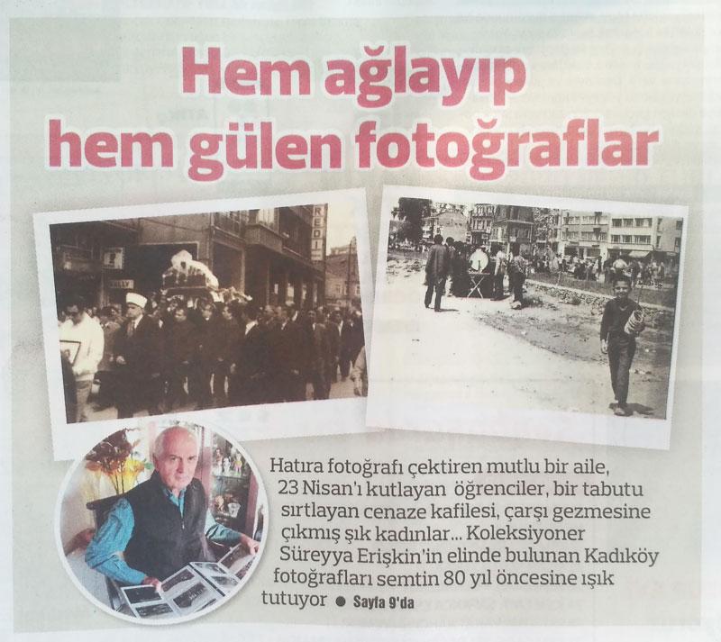 Gazete Kadıköy fotokart Röportaj
