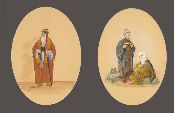 Osmanlı Yahudi Kıyafetleri Sergi